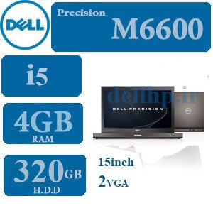 لپ تاپ استوک Dell Precision M6600 Core i5
